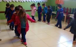 Desenvolvendo equilíbrio e espaço - temporal